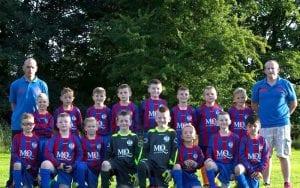 mcqueens dairies charity football