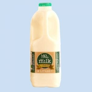organic semi skimmed milk 2 litres delivery