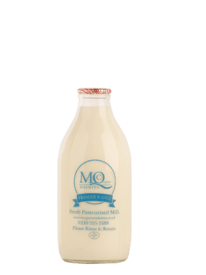 mcqueens dairies milk delivered in glass bottles