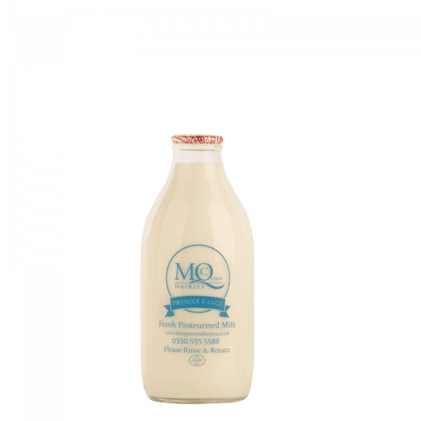 mcqueens dairies milk delivered in glass bottles