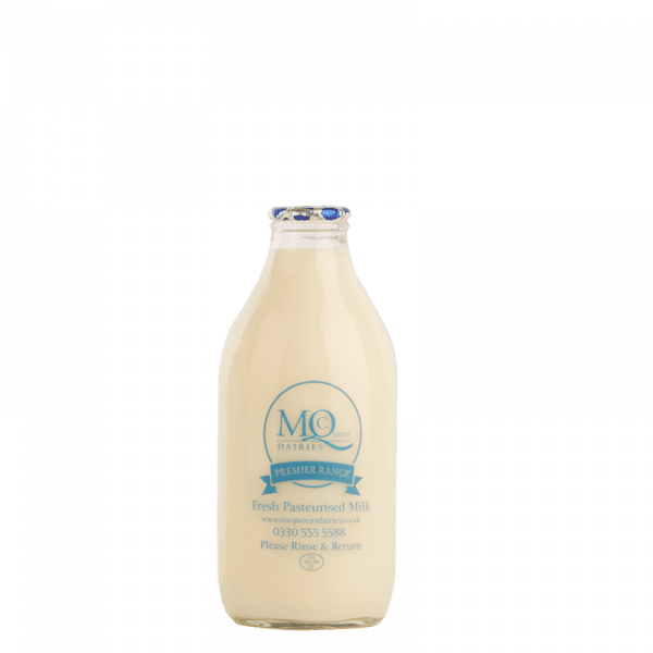 glass milk bottles milkman