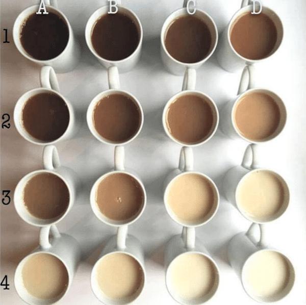 tea shades