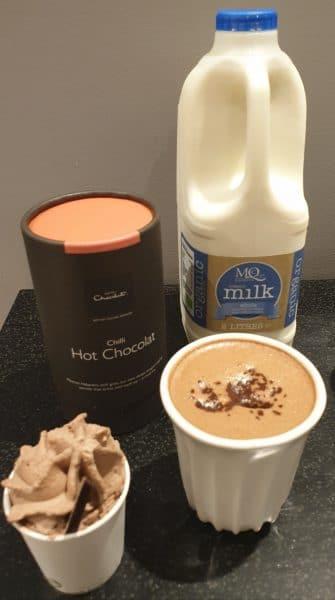 milk supplier hotel chocolat