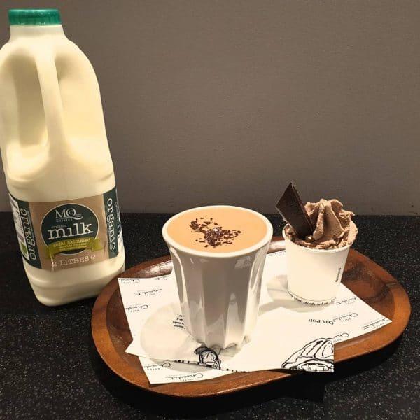 hotel chocolat milk