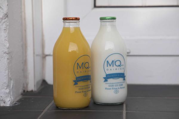 McQueens Dairies milk delivery