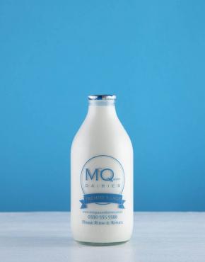 Glass bottle milk delivery