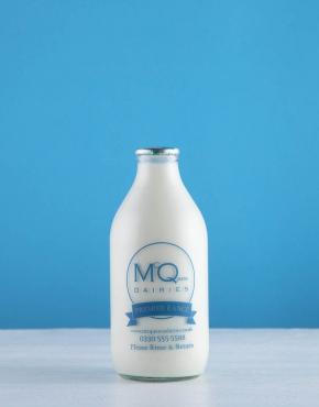 glass bottle milk