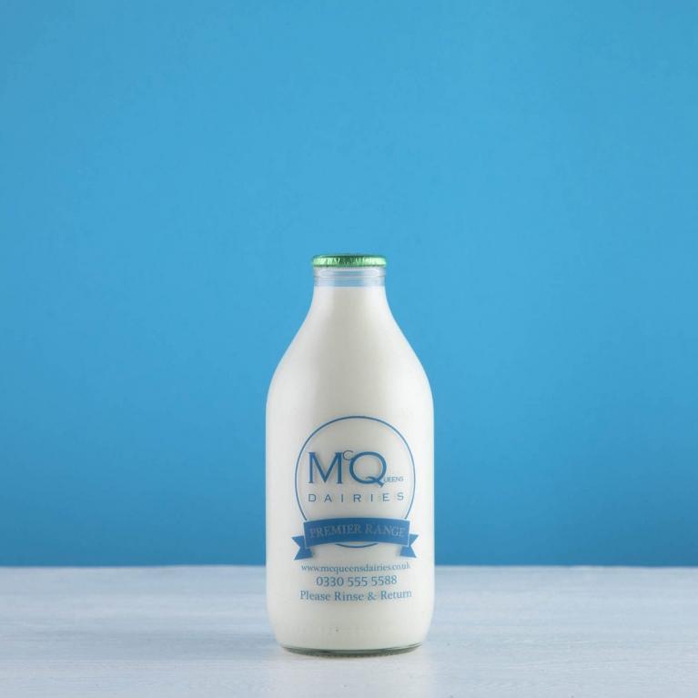 milk in glass bottles uk