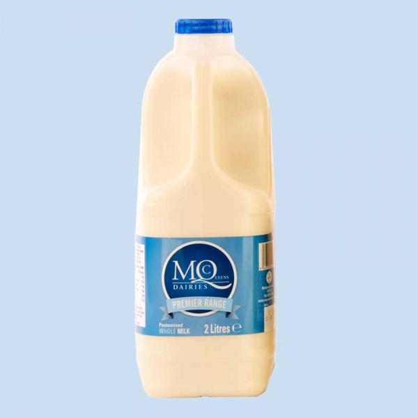2 litre whole milk delivery