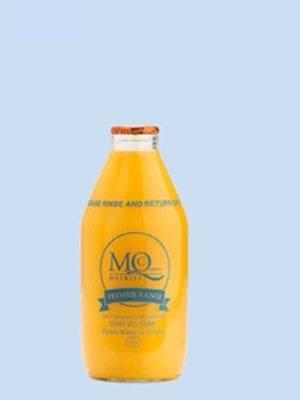orange juice glass bottles