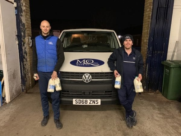 milk delivery warrington