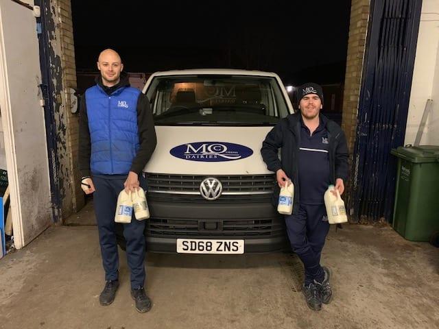milk delivery warrington