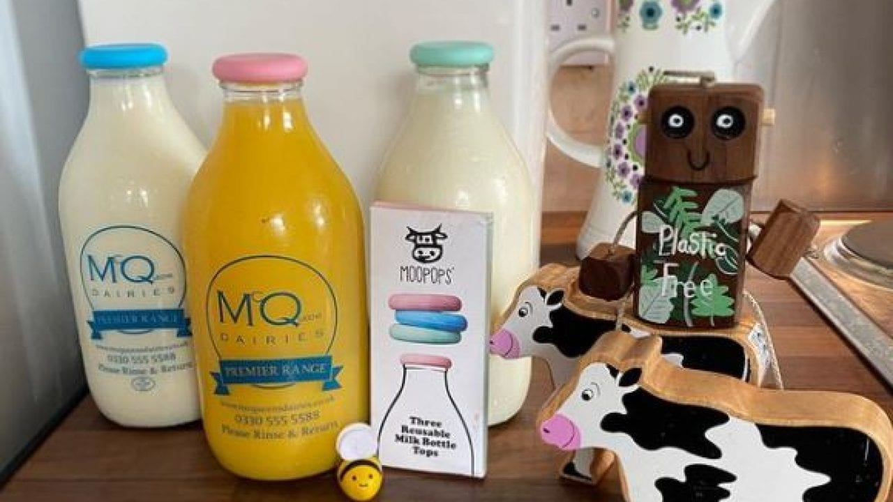 Free milk for nurseries and childminders with McQueens Dairies