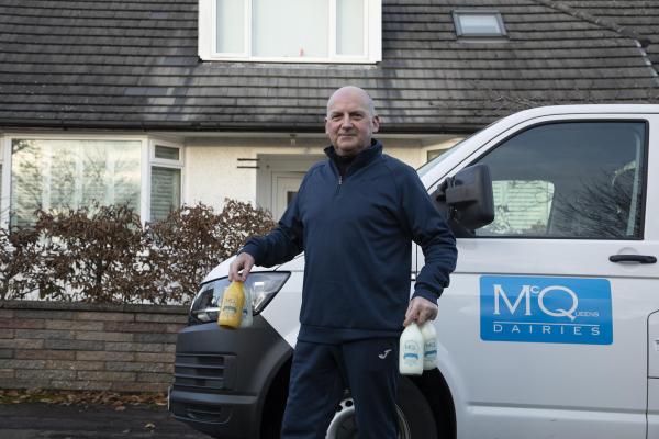 McQueens Dairies Milkman