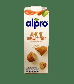 unsweeteened almond milk