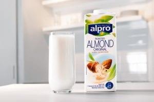 Alpro almond milk delivery