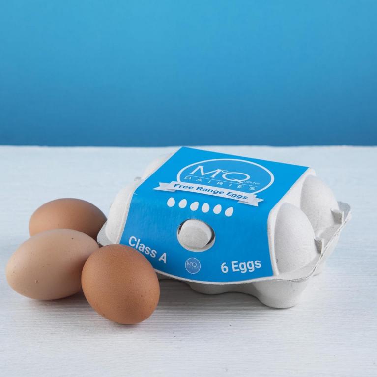 mcqueens free range eggs delivery