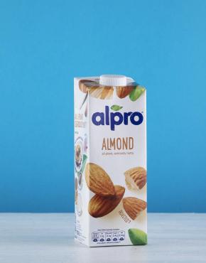 almond milk man delivered