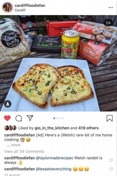 National Welsh Rarebit Say