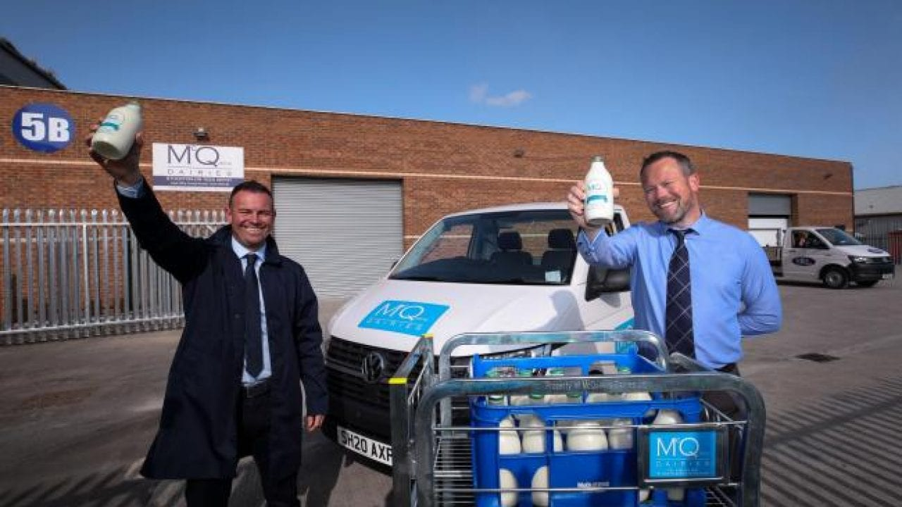 McQueens Dairies expand milk deliveries in Stockton and the North East