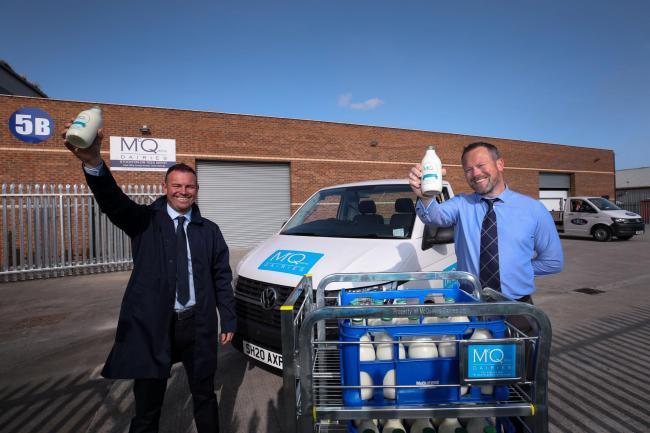 McQueens Dairies Stockton Depot