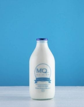 1 Pint Whole Milk Glass Featured Image