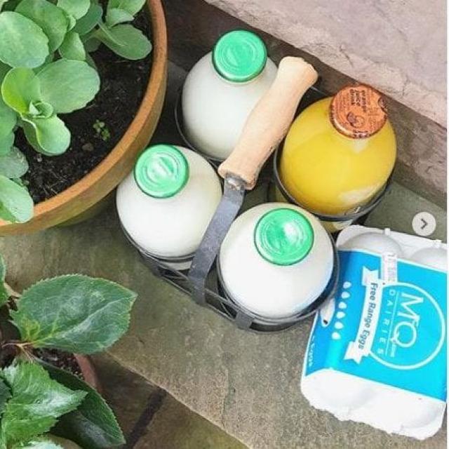 eggs milk delivery