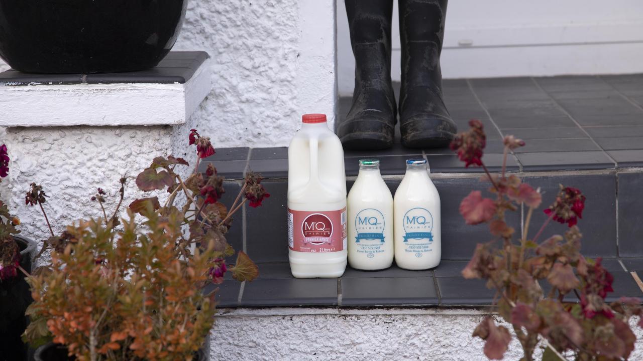 McQueens Dairies Festive Delivery Schedule