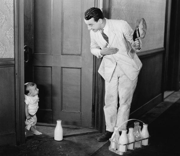 Milk Delivery in the 20th century
