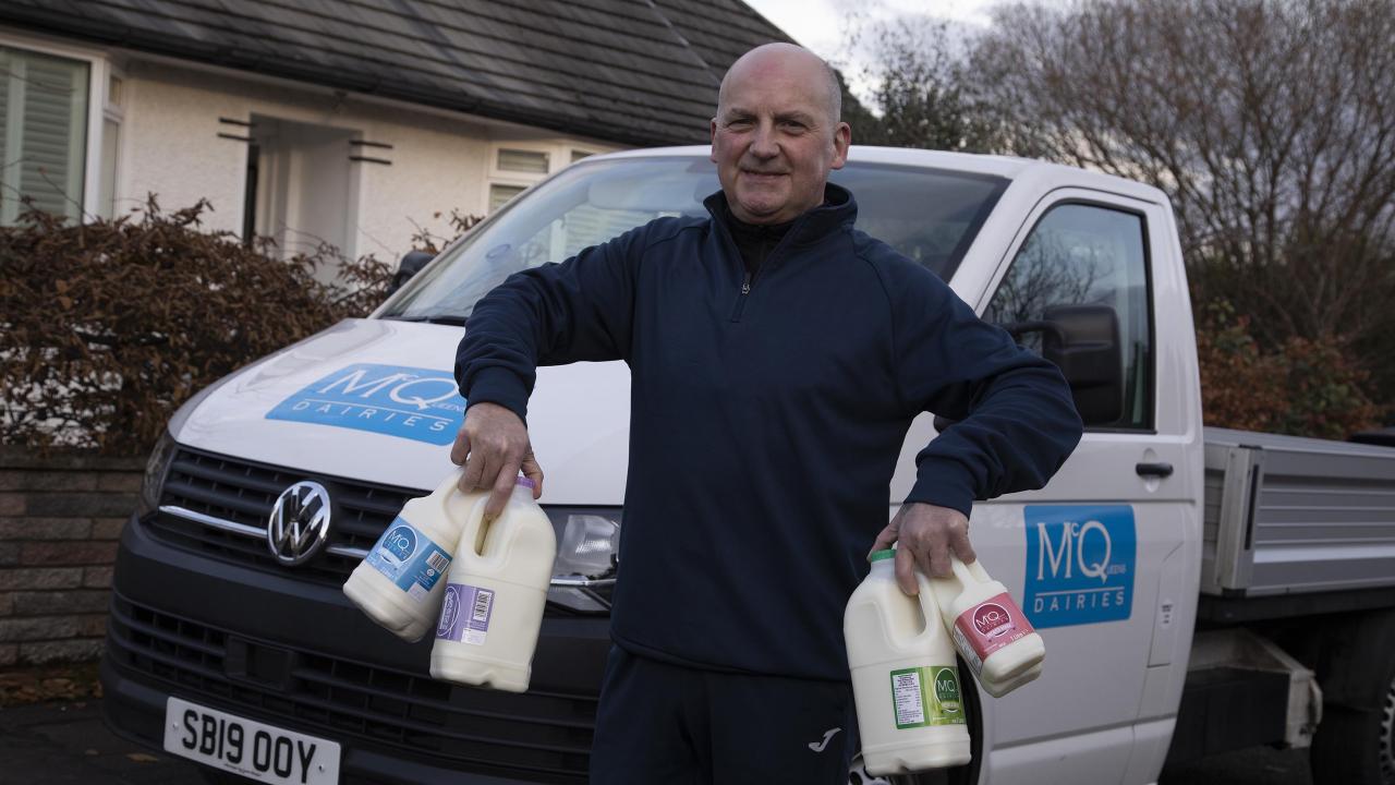Number of doorstep delivery milkmen in Edinburgh grows by almost 50% in past year