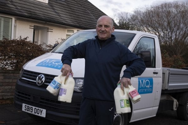 Milkman in Edinburgh