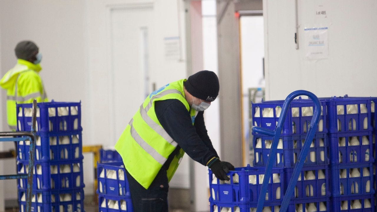 Increase in milkmen in Warrington due to Covid-19 lockdowns