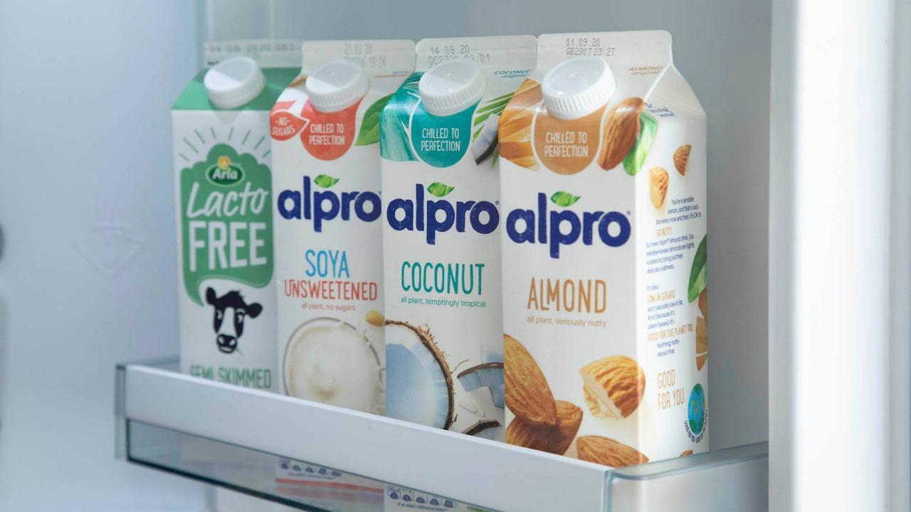 Vegan Milk Delivery