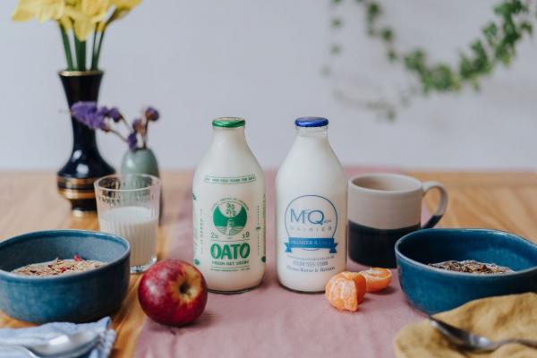 Oato milk delivery
