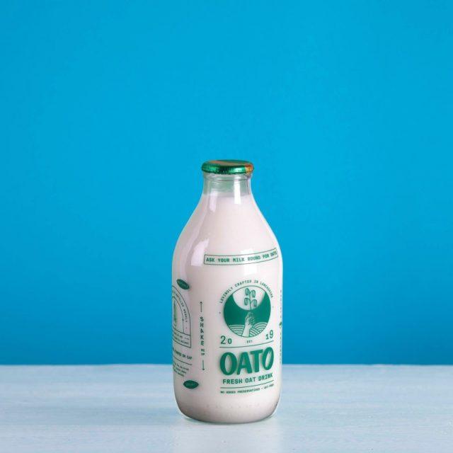 Plant based oat milk