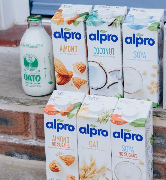 Non dairy milks