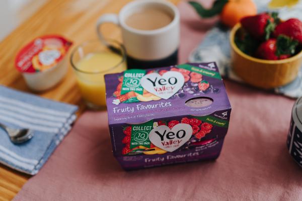 Yeo Valley yoghurts