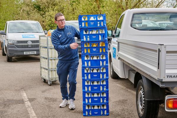 Milk delivery Northampton