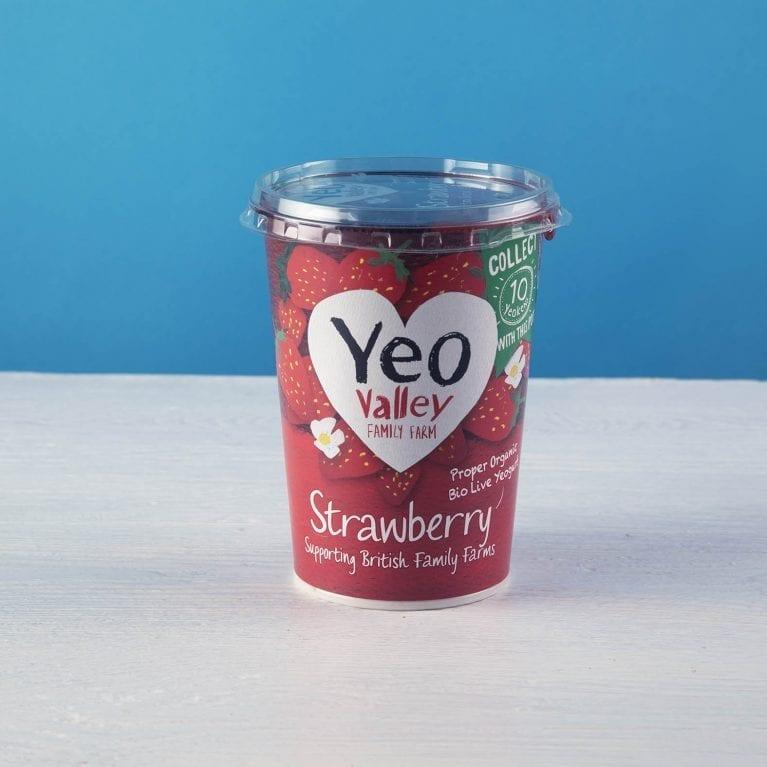 Yeo Valley Strawberry Yogurt