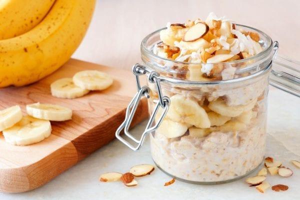 peanut butter overnight oats