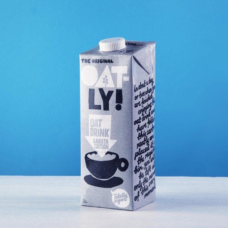 Oatly barista oat milk