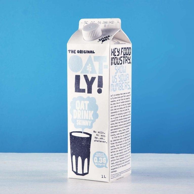 Oatly oat drink skinny chilled
