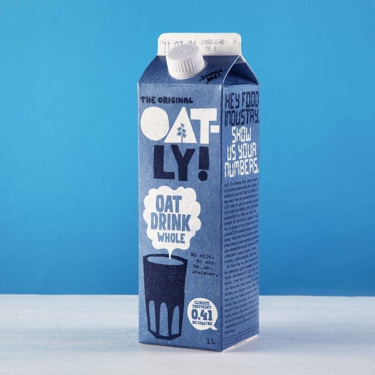Oatly Oat Drink Whole Chilled