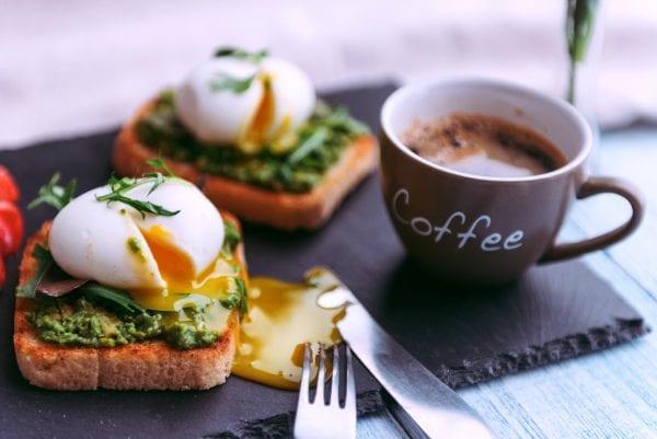 Avocado & poached egg recipe